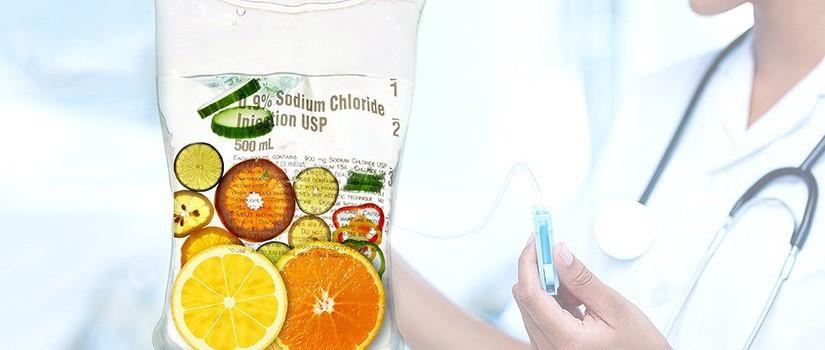 Vitamín C, infuze, doktor Melník